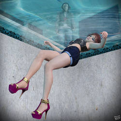 As She Plunged Into Unconsciousness by DanielSpacey