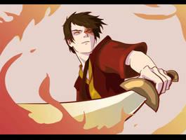 Avatar: Zuko Quickie by Aleana