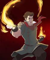 Avatar: LoK: Mako by Aleana
