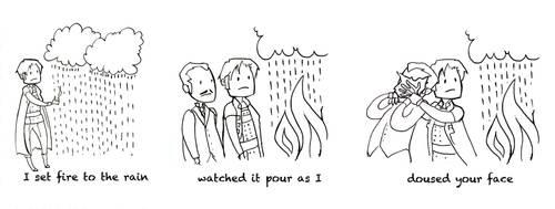 Set Fire to the Rain by Aleana
