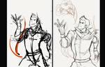 How I sketch...