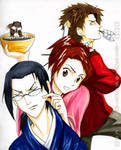 Samurai Champloo: the trio