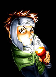 Naruto: Flashlight Face by Aleana