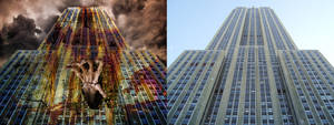 Looking Up at Empire State Building copy by loozer786