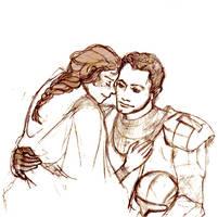 Darman and Etain by Gorgona