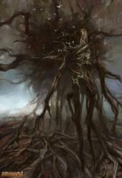 Leshy (Forest spirit) by Lucy-Lisett