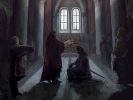 Coronation (concept-art for Reign of Guilds) by Lucy-Lisett