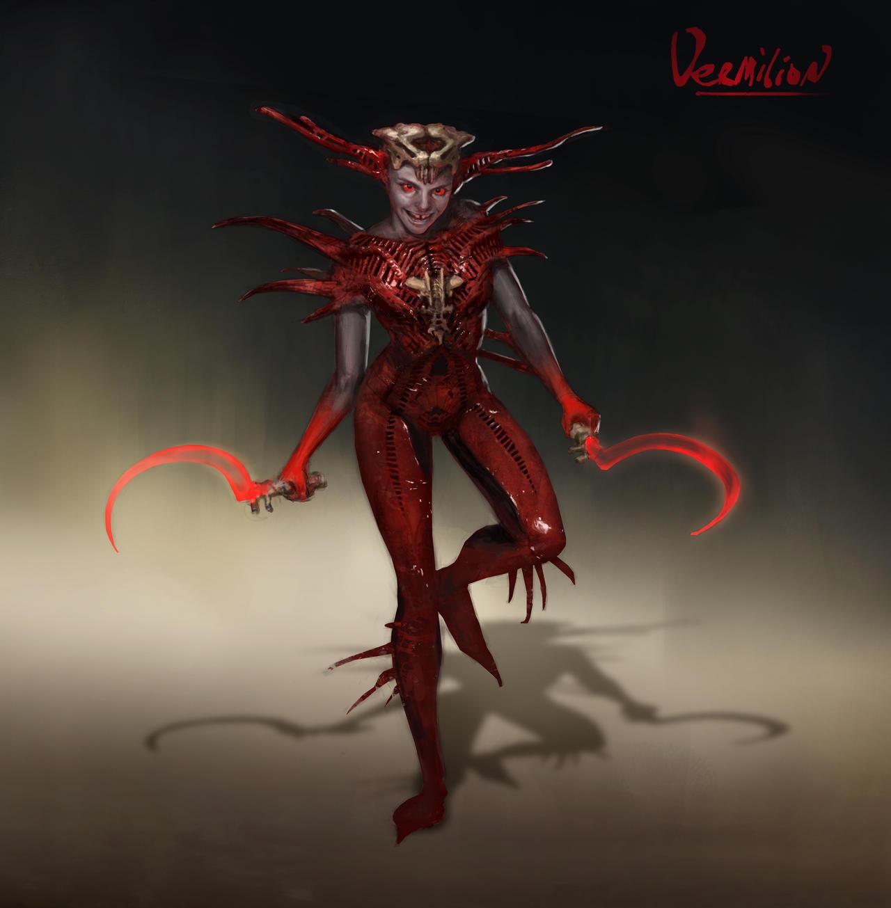 Mischievous - Vermilion