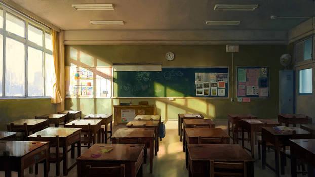 Classroom concept art