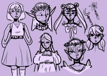 Sketching September by LynxKittyArt