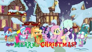 Merry Christmas! from MLP FIM Wallpaper