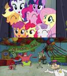MLP FIM and Spongebob Squarepants comparison #2