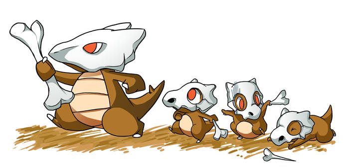Pokemon- 104 105