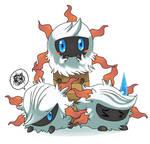 Pokemon- 638 Larvesta