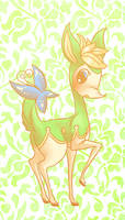Summer Deerling by Pace-Eterna