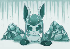 Icy Rock by Pace-Eterna