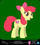 Applebloom Show Style Pony