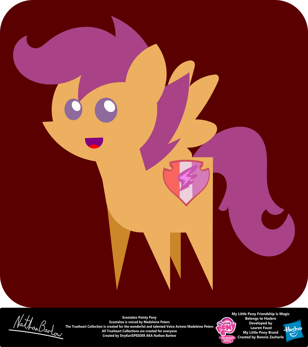 Scootaloo Pointy Pony By Strykarispeeder On Deviantart (new, but equally awesome singer for luna now!). deviantart