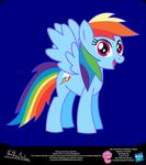 Rainbow Dash Show Style Pony