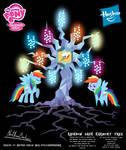 Rainbow Dash Harmony Tree Poster