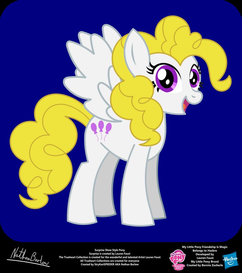 Surprise Show Style Pony