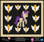 Golden Notes OC Harmony Poster by StryKariSPEEDER