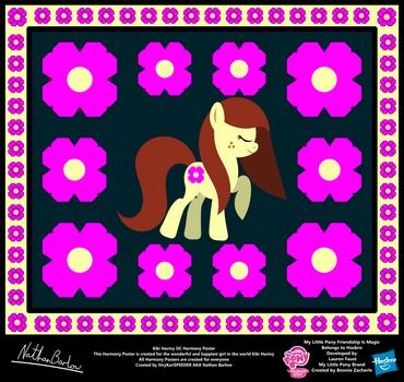 Kiki Havivy OC Harmony Poster by StryKariSPEEDER