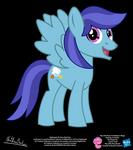 Nightingale OC Show Style Pony