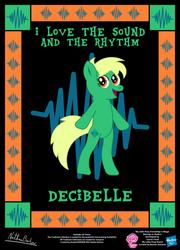 Decibelle OC Poster by StryKariSPEEDER