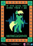 Decibellelicious OC Poster by StryKariSPEEDER