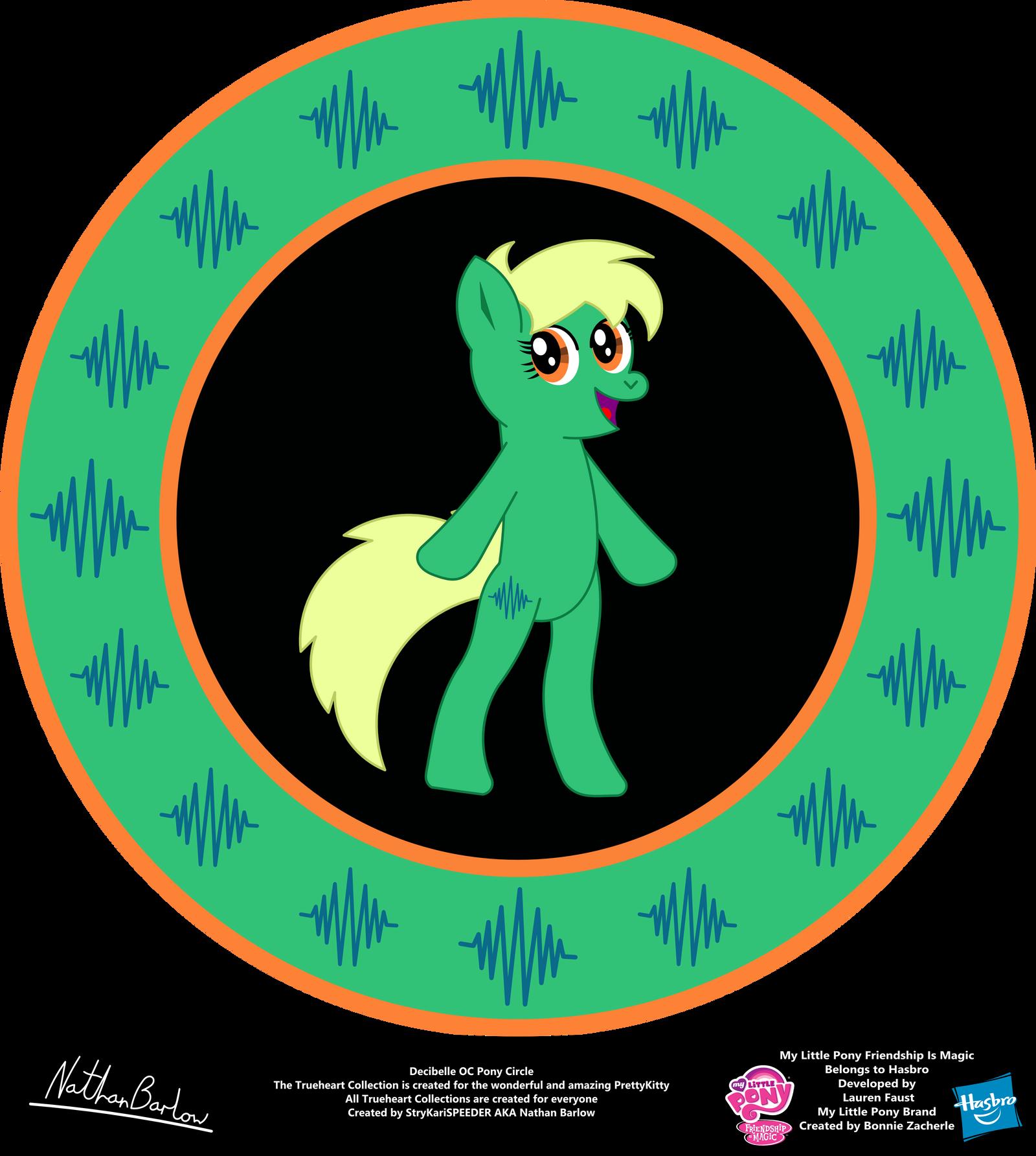 Decibelle OC Pony Circle by StryKariSPEEDER