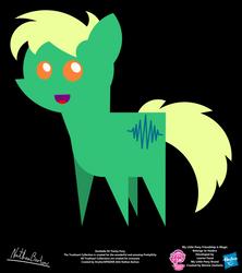 Decibelle OC Pointy Pony by StryKariSPEEDER