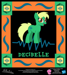 Decibelle OC Collectible Card