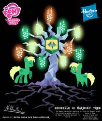 Decibelle OC Harmony Tree Poster