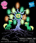 Decibelle OC Harmony Tree Poster by StryKariSPEEDER