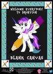 Blank Canvas OC Poster