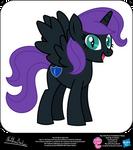 Nyx OC Show Style Pony