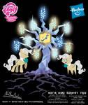 Mayor Mare Harmony Tree Poster