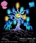 Starblaze OC Harmony Tree Poster