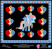 Snow OC Harmony Poster by StryKariSPEEDER
