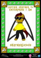 Shatnerlicious OC Poster by StryKariSPEEDER