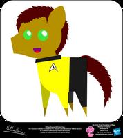 William Shatner OC Pointy Pony by StryKariSPEEDER