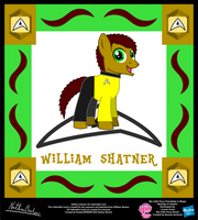 William Shatner OC Collectible Card by StryKariSPEEDER