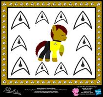 William Shatner OC Harmony Poster by StryKariSPEEDER