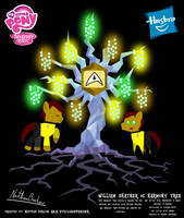 William Shatner OC Harmony Tree Poster by StryKariSPEEDER