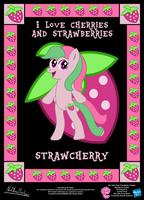 StrawCherry OC Poster by StryKariSPEEDER