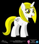 Blondy OC Show Style Pony