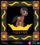 Valkyrie OC Collectible Card