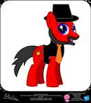 Burt Rock OC Show Style Pony