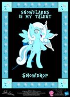 Snowdrop OC Poster by StryKariSPEEDER